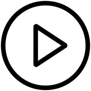 Play button completo realizzato con Figma