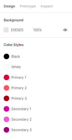 Libreria colori figma