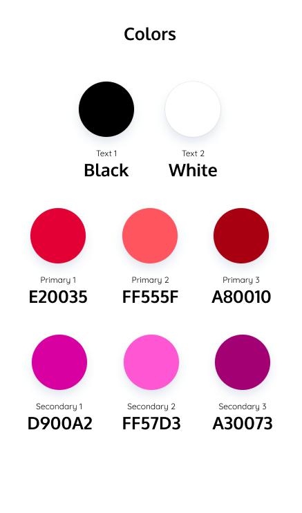 Disporre la palette di colori su Figma